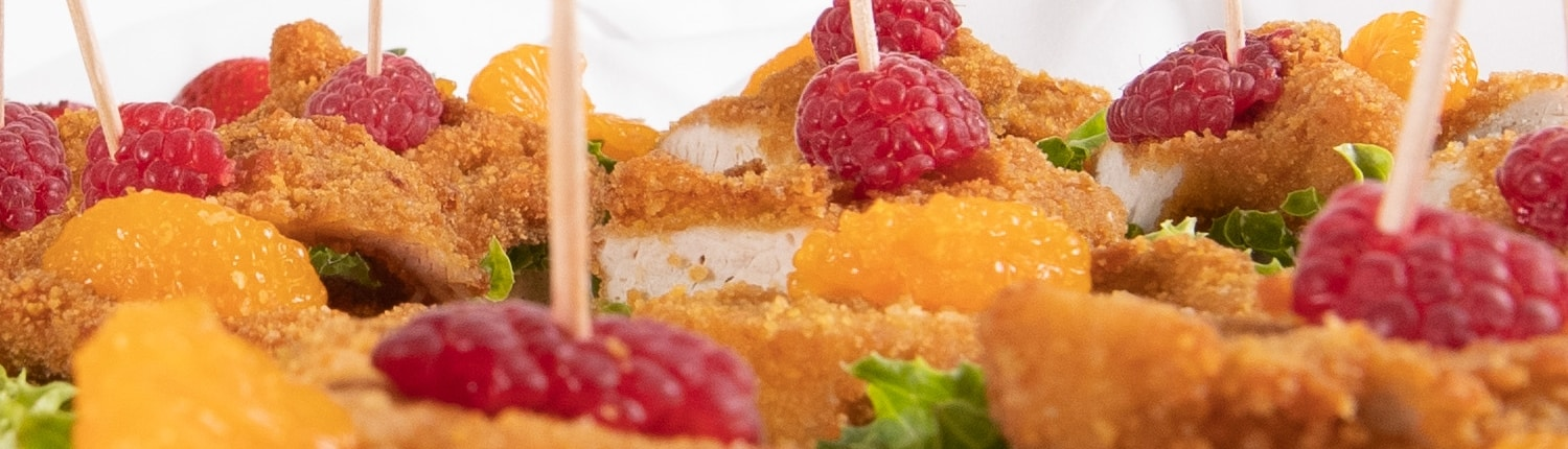 Fingerfood-Selectionen Odeon Partyservice